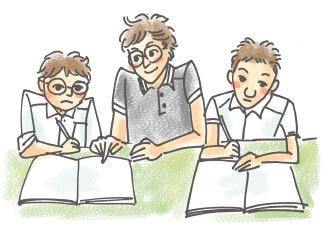 学習塾と遜色ない指導体制
